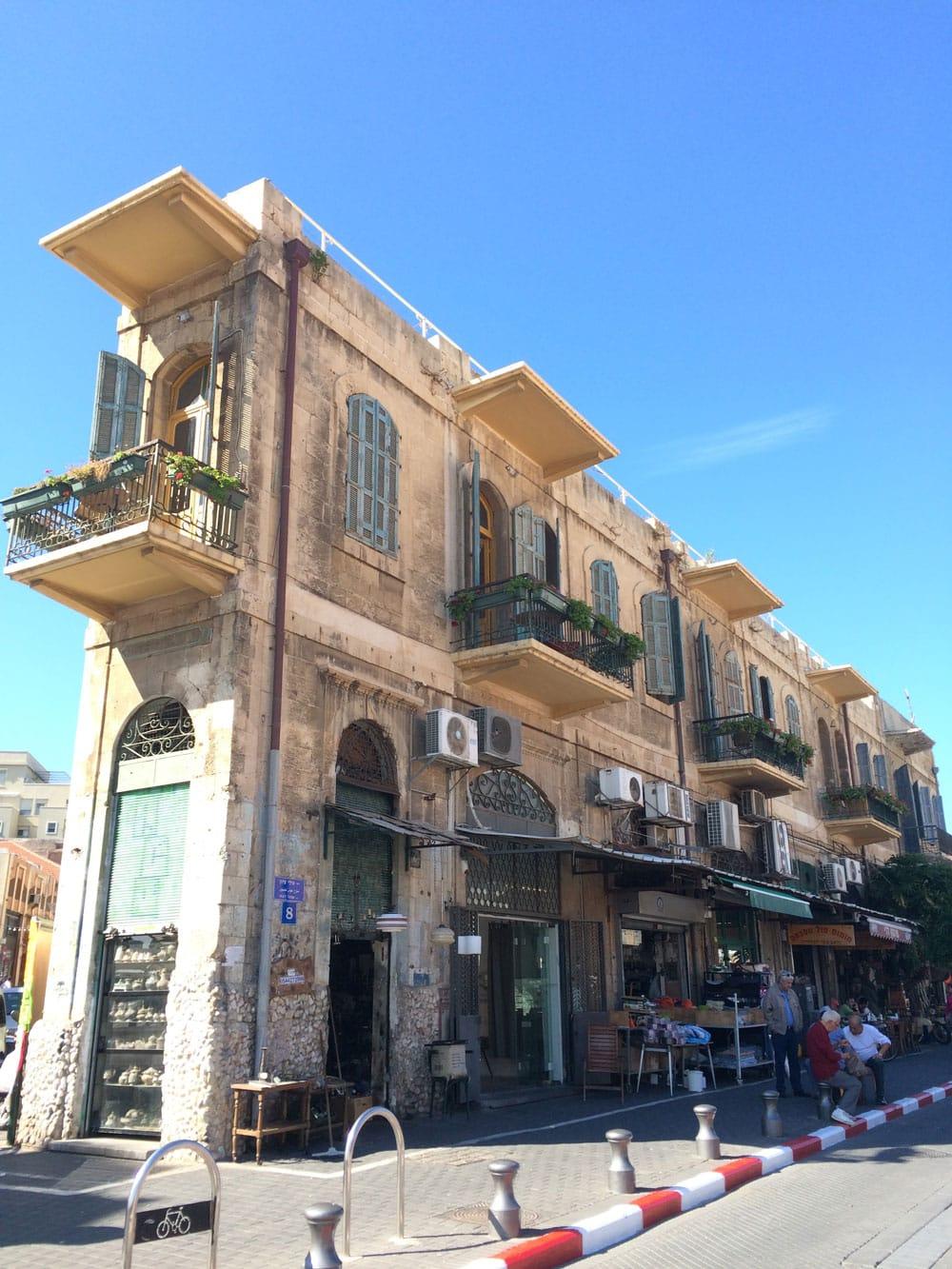 unvergessliche Reise durch Israel in der Altstadt von Tel Aviv ©looping-magazin