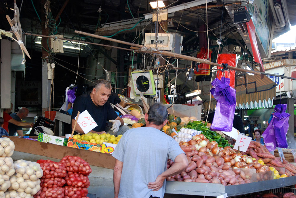 Reisetipps Tel Aviv carmel markt