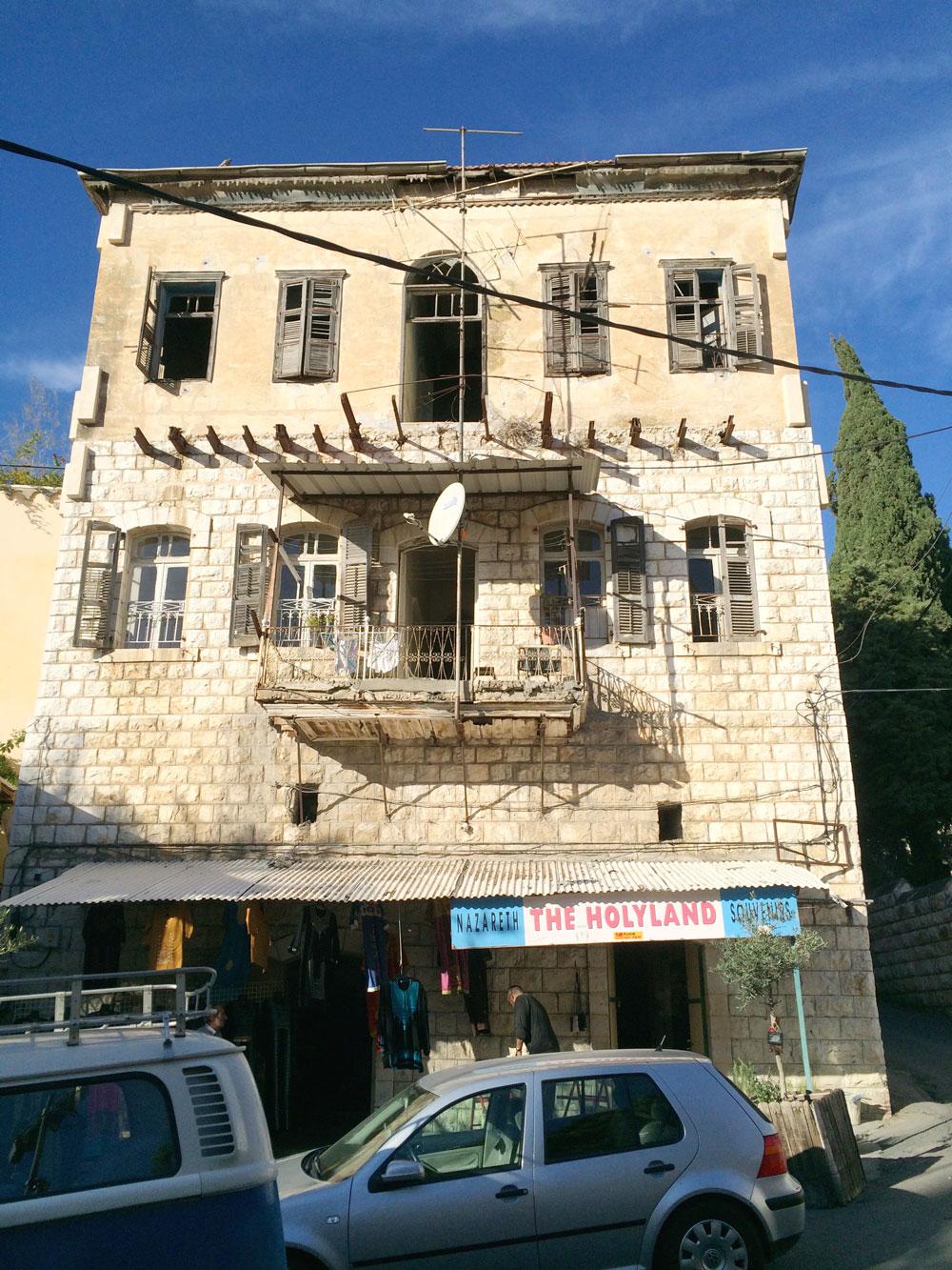 spannende Rundreise durch Israel ©looping-magazin Haus in Nazareth