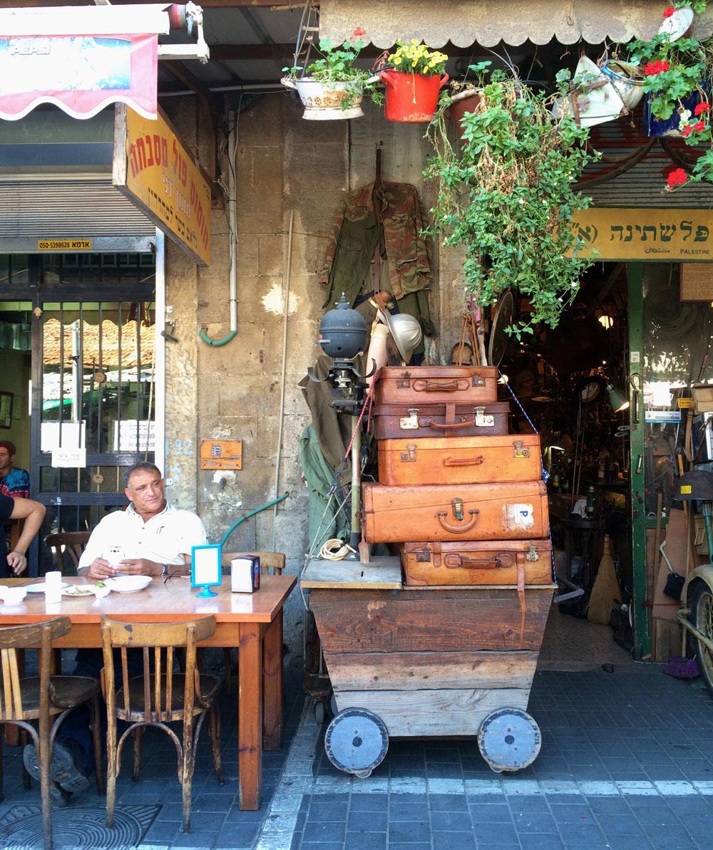 unvergessliche Reise durch Israel Altstadt Tel Aviv ©looping-magazin