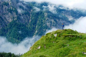Auf-dem-berg-Ritzaualm-Kaisertal