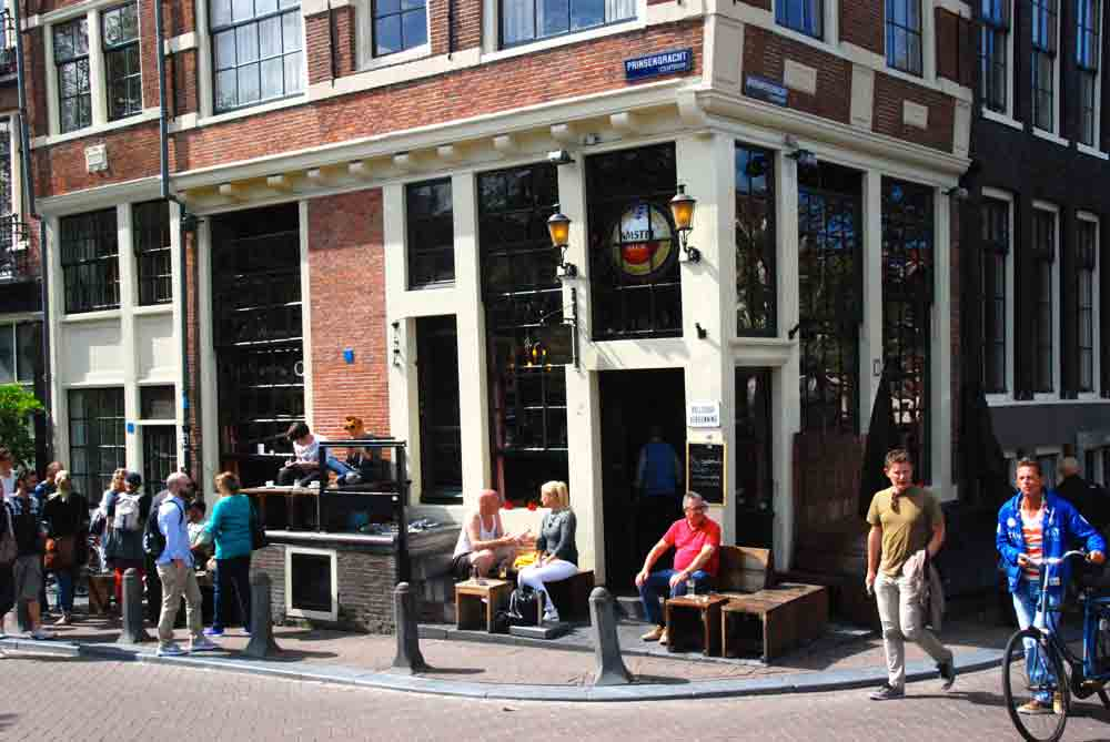 Foodtour durch Amsterdam cafe