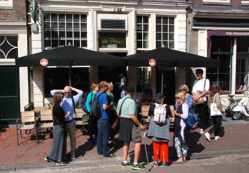 Foodtour durch Amsterdam in der gruppe