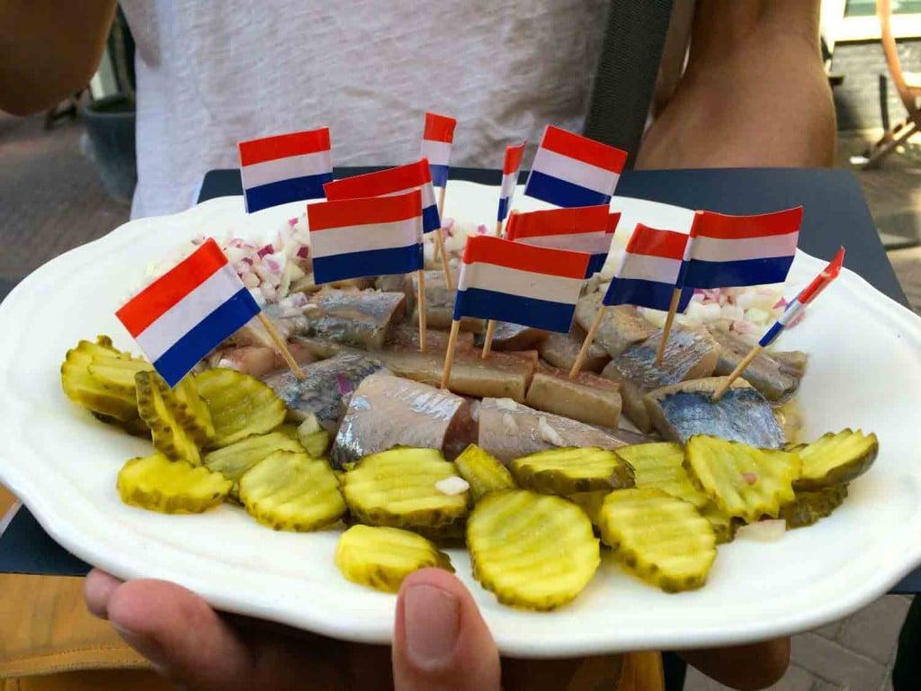 Foodtour durch Amsterdam hering