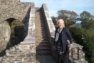 Autorin Maike Grunwald in Wales, Abdruck und Online-Nutzung honorarpflichtig, (c) Maike Grunwald, www.maikegrunwald.com