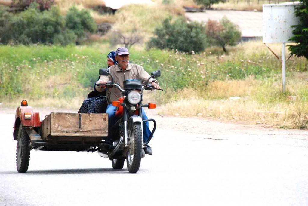 Mopedfahrer-Tuerkei