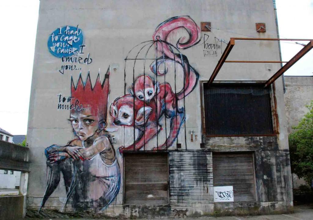 Stavanger-Graffiti-Wand