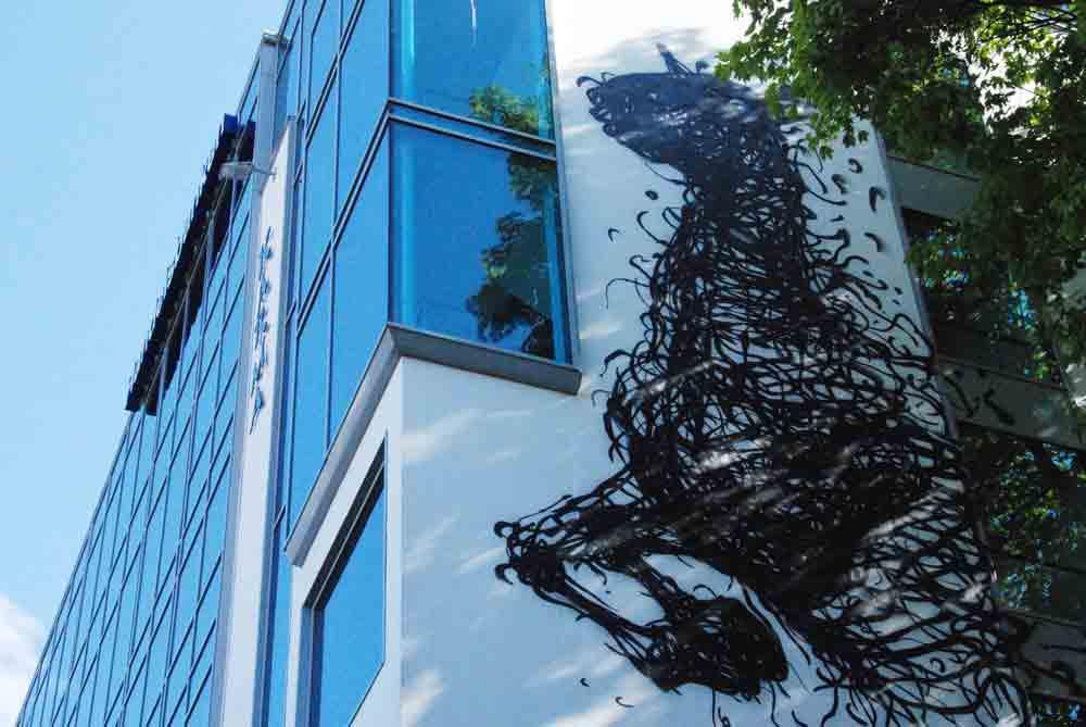 Streetart-Pferd-Stavanger