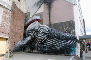 wal an der Wand Streetart Stavanger