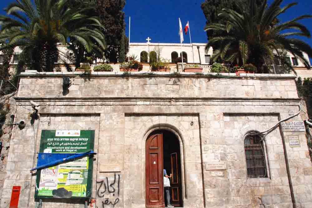 Israel Rundreise Eingang österreichisches Hospitz in Jerusalem