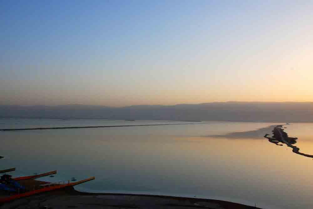 Reisebericht Israel Sonnenaufgang am Toten Meer