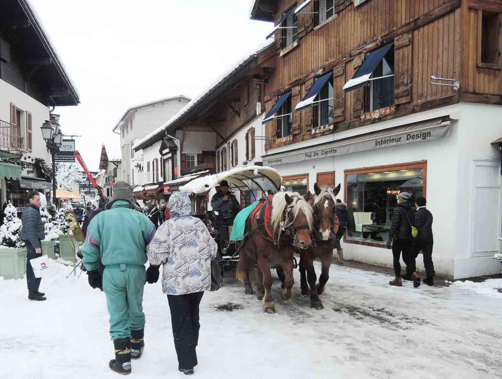 skifahren-in-frankreich-megeve-kutsche