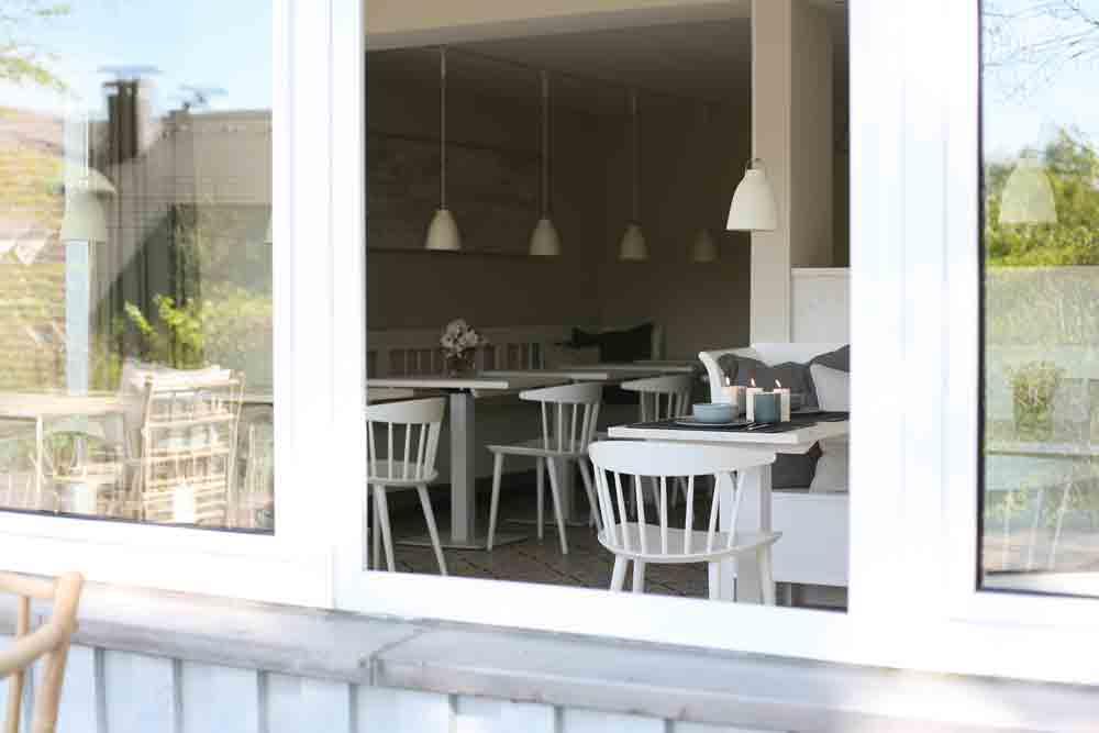 Fruehstuecksraum Smucke Steed beste Pension an der Ostsee