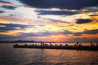 Zadar-am-Abend