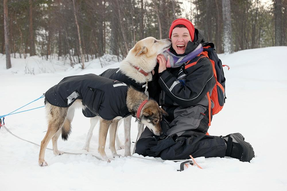 Abenteuer in Schwedisch Lappland