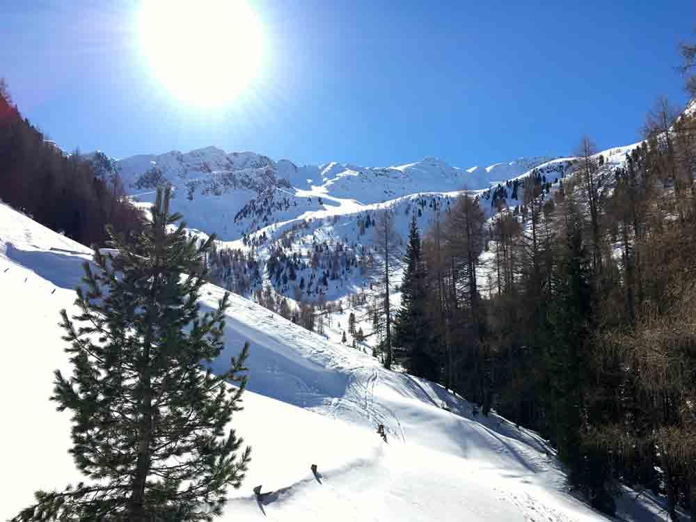 Schneeschuhwanderung-Steinzgeralm-Suedtirol-Kronplatz-©LOOPINGMAGAZIN_8185