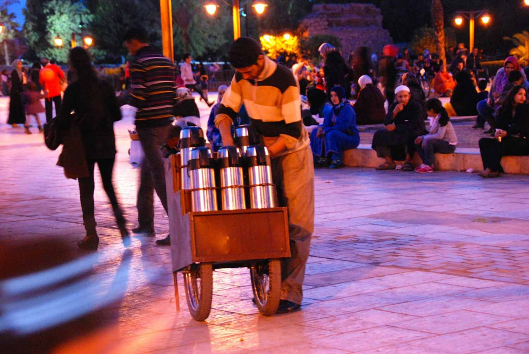 Kurztripp nach Marrakesch Strassenhaendler