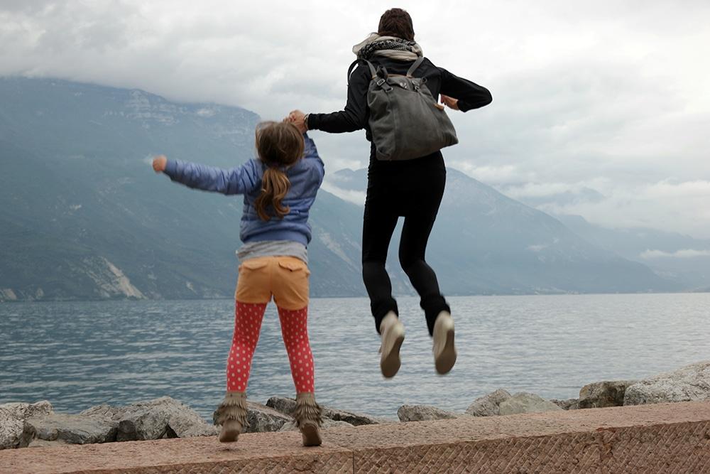 Gardasee mit Kind auch bei Regen entdecken
