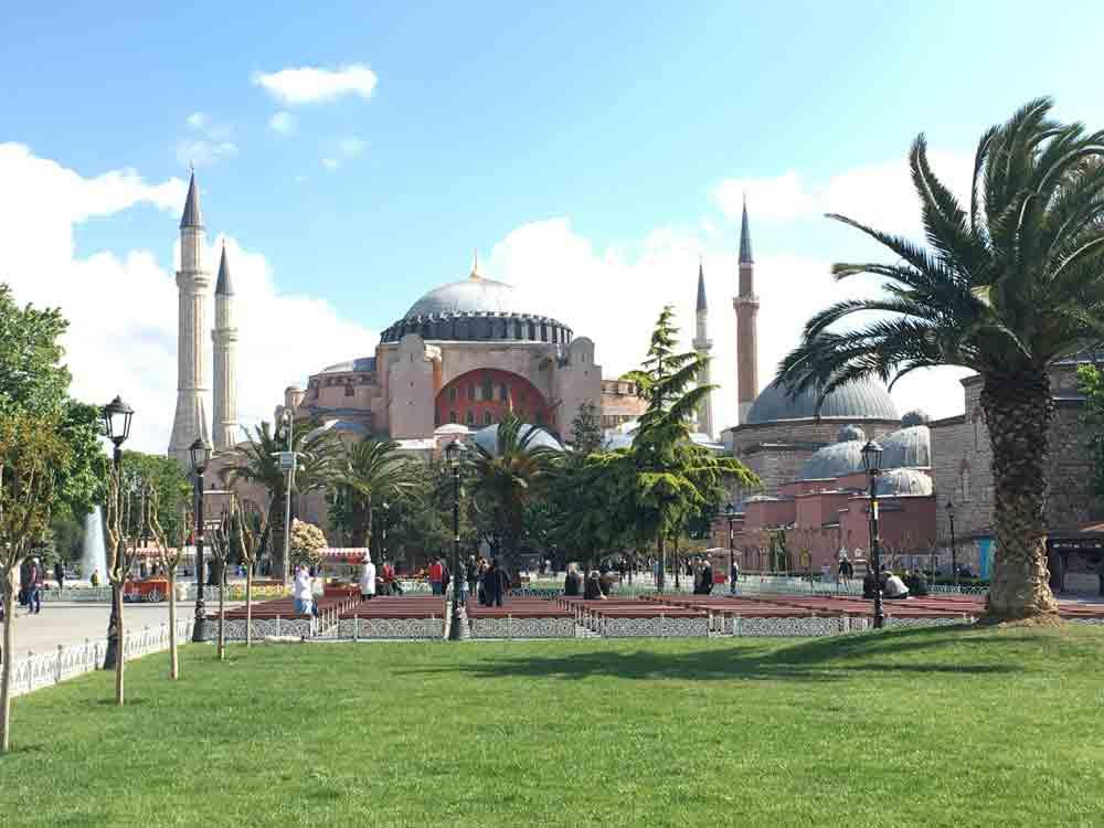 3 Tage Istanbul Reisetipps Hagia Sophia