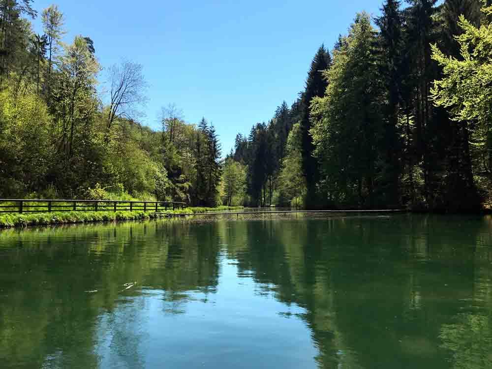 Schöngrundsee Pottensteiner Meile Ausflugsziele Fränkische Schweiz mit Kind