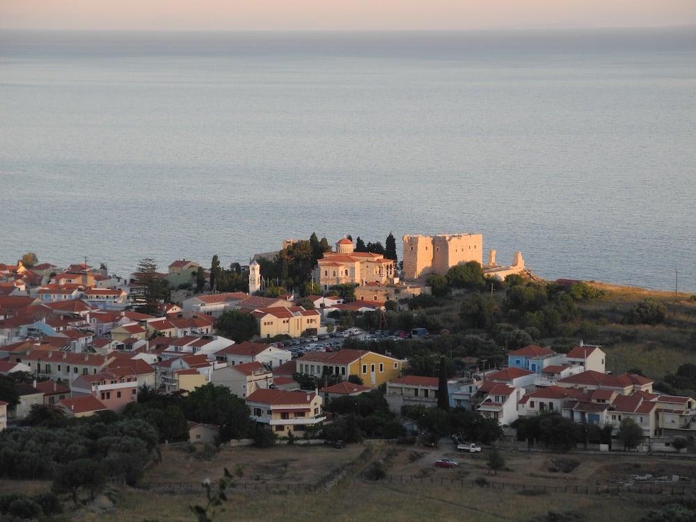Aussicht-Pythagorio-griechische-insel-Samos-©looping