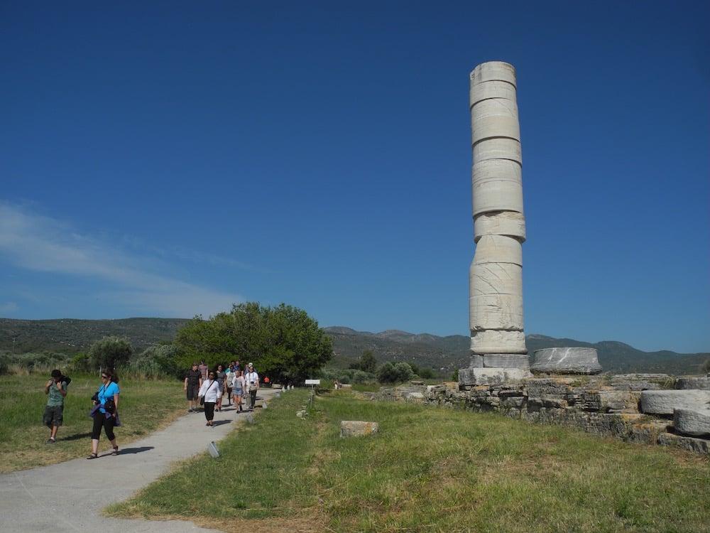 Tempel-griechische-insel-Samos-©looping