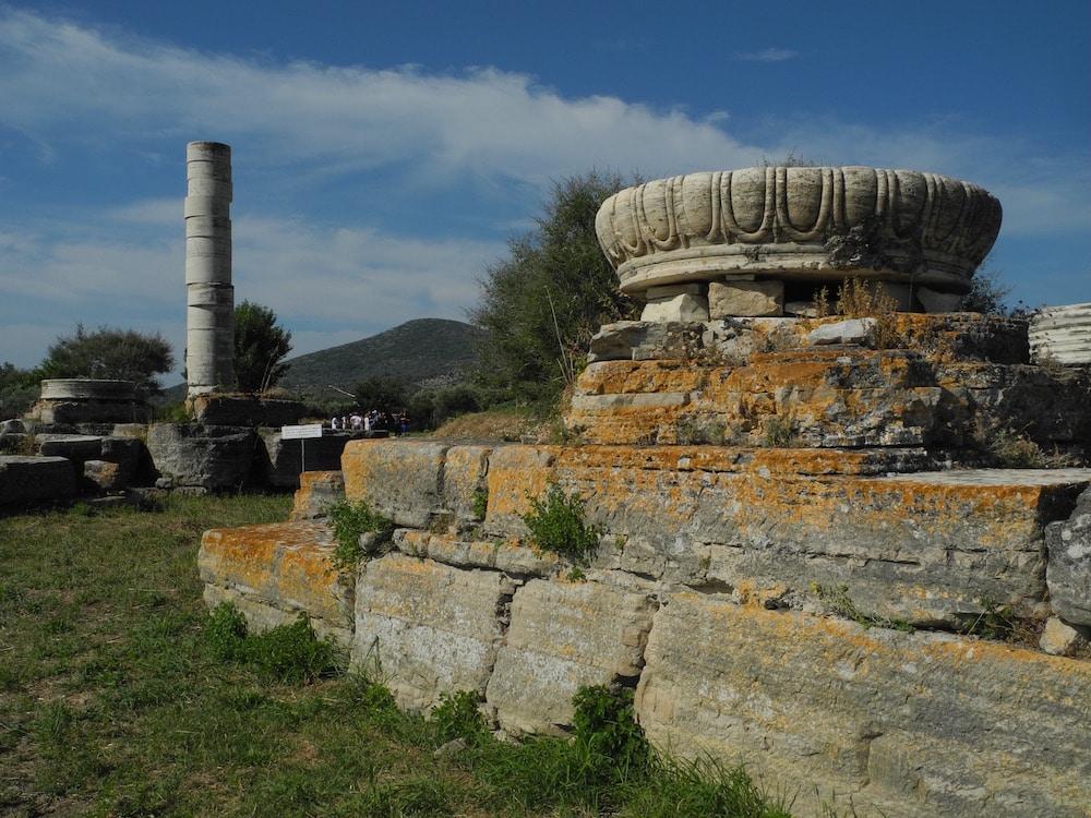 Tempelanlage-griechische-insel-Samos-©looping