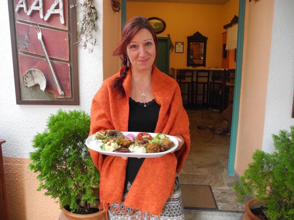 Restaurantbesitzer vom AAA auf Samos – der wilde Norden ©looping-magazin