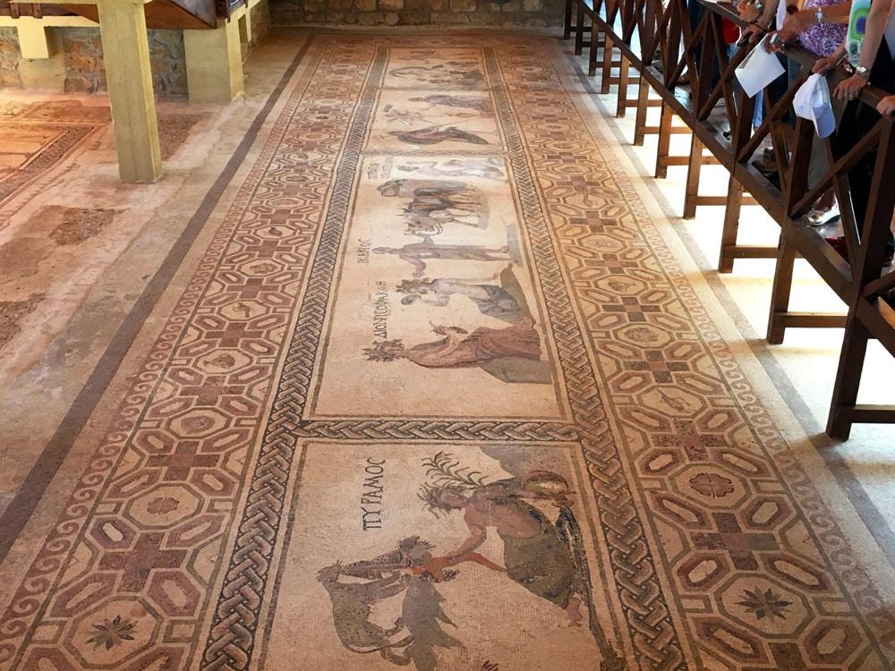 warum du nach zypern musst. der archäologische Park in Paphos unesco-weltkulturerbe