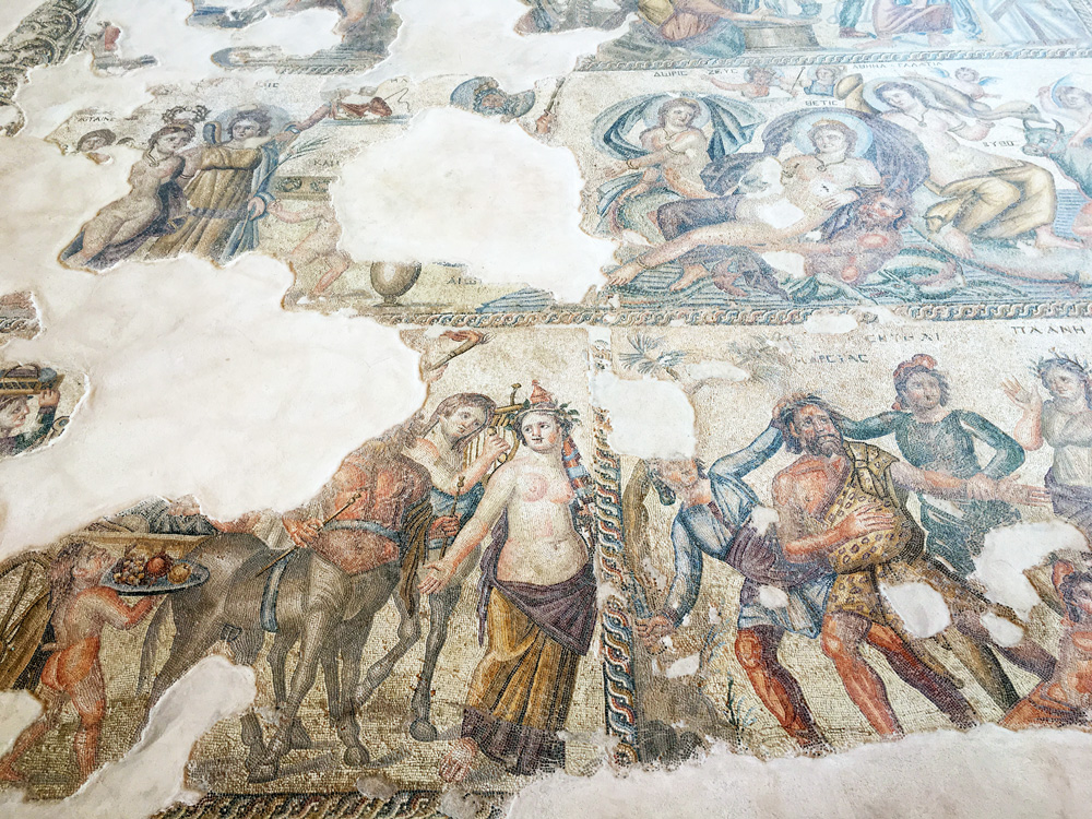 Mosaik-im-Haus-des-Aion-archaeologischer-park-paphos-©looping-magazin