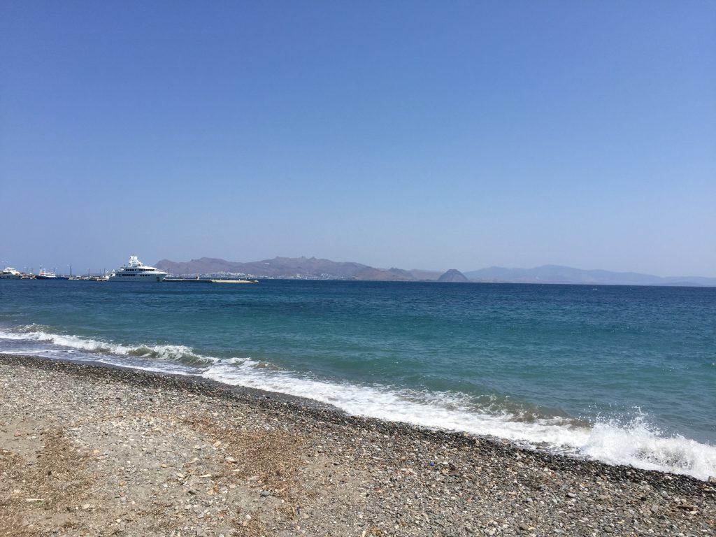 Im Sommer 2015 war der Strand überfüllt. Inzwischen ist auf der Insel wieder Ruhe eingekehrt