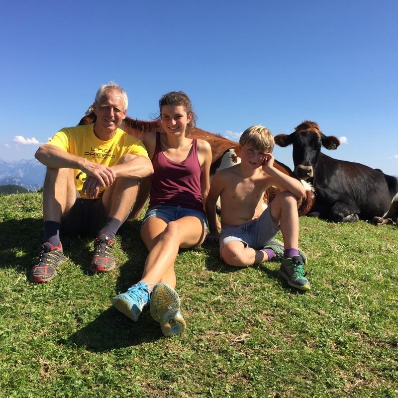 Wandern mit Kindern: Max und seine Kids