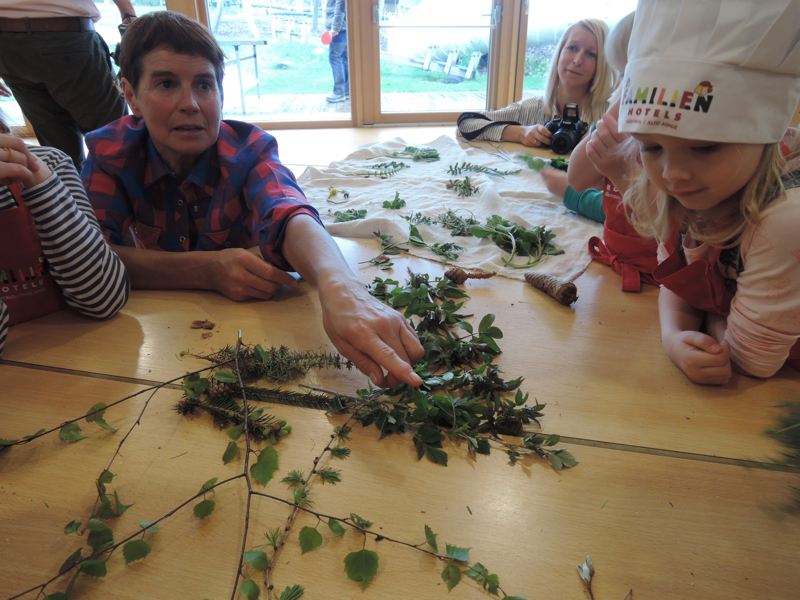 die Hüttenwirtin von der Flaggerschartenhütte