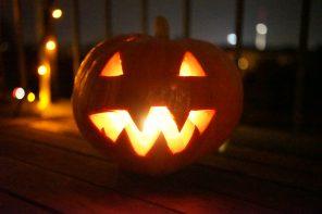 it's Halloween Baby. Schonungsloses Kürbis basteln für halloween