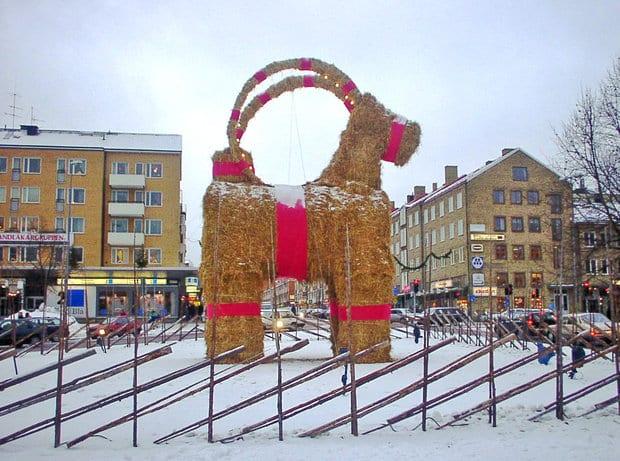 Julbock Schweden
