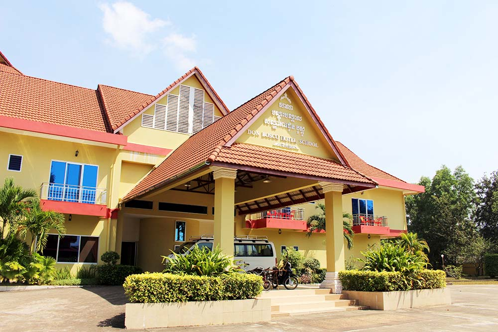 Don Bosco Hotel School Sihanoukville Kambodscha