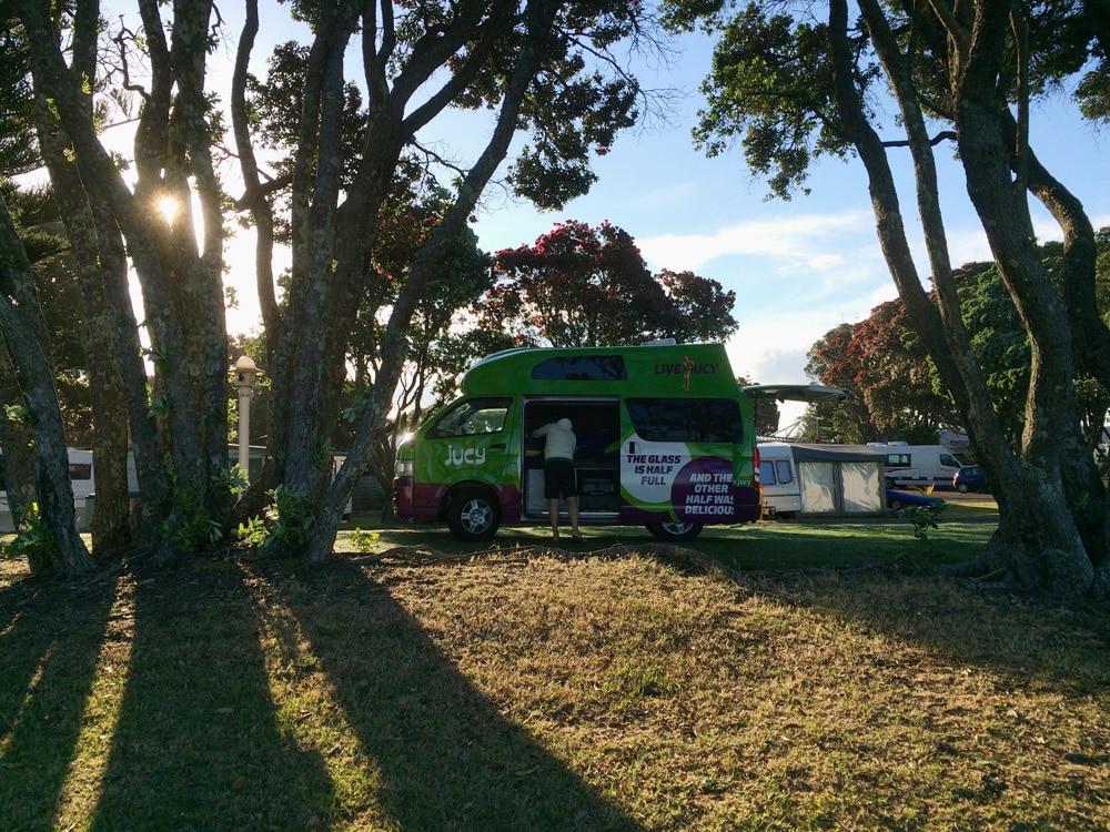 Campingplatz Nordinsel Neuseeland