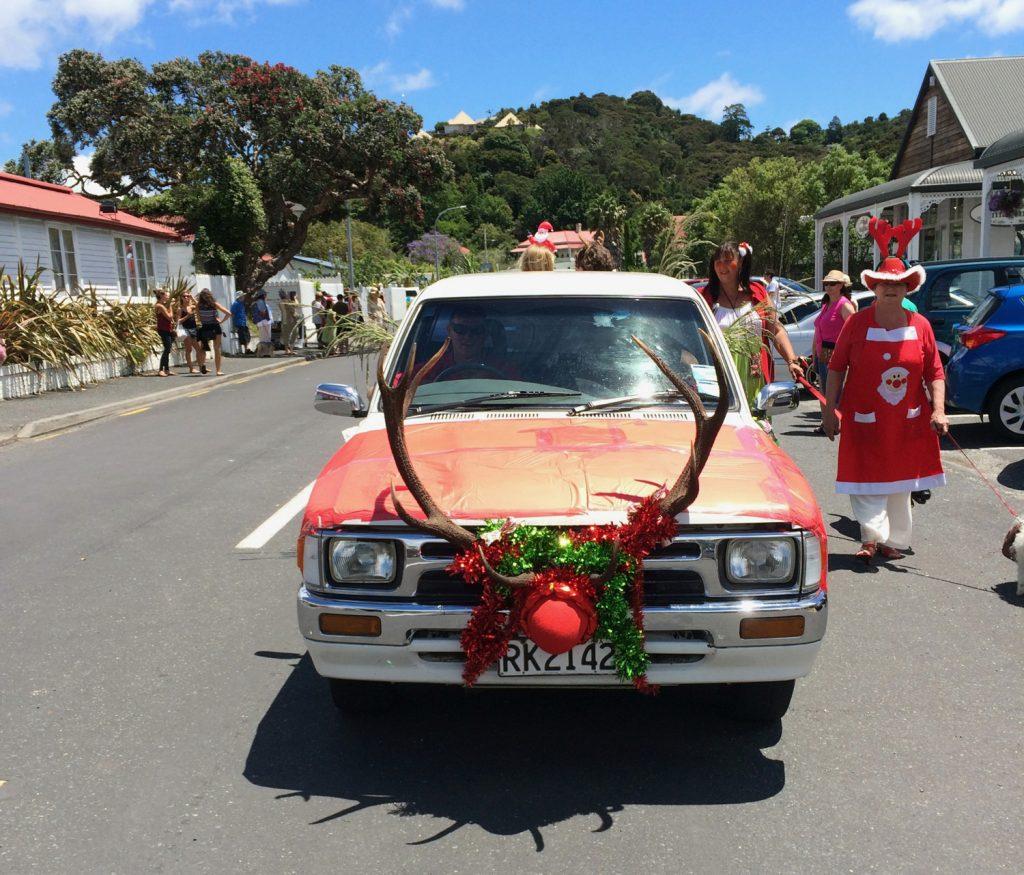 Weihnachtsbräuche in aller Welt warme Weihnachten auf Neuseeland