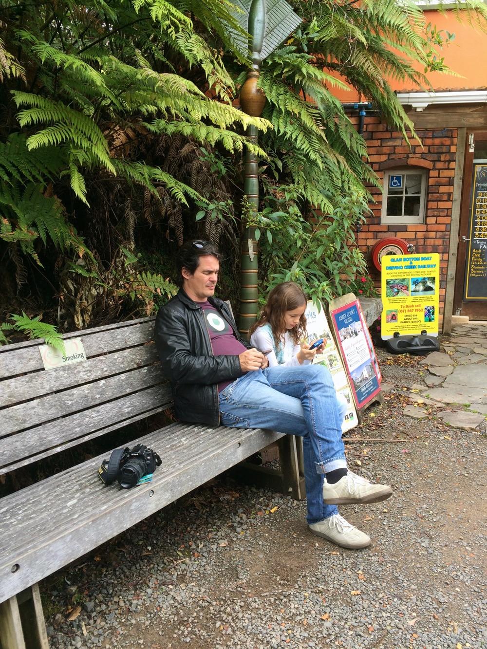 Familienreise Neuseeland. Unterwegs auf der Nordinsel