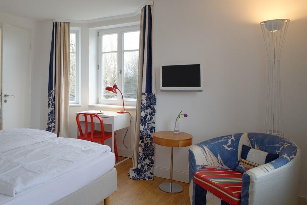 Doppelzimmer im Charlottenhof ein traumhaftes Hotel an der Ostsee