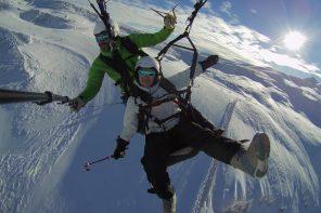 Ich hab's getan! Paragliden in Saalbach Hinterglemm