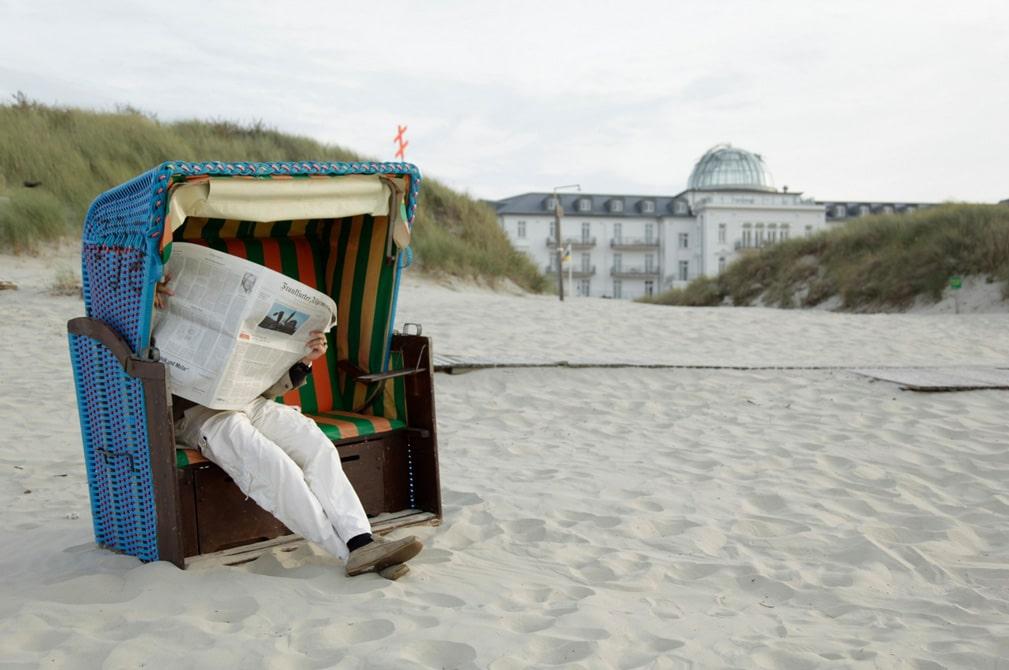 Strandhotel Kurhaus Juist an der Nordsee