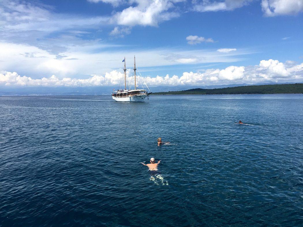 Erste Kreuzfahrt durch die kroatische Adria