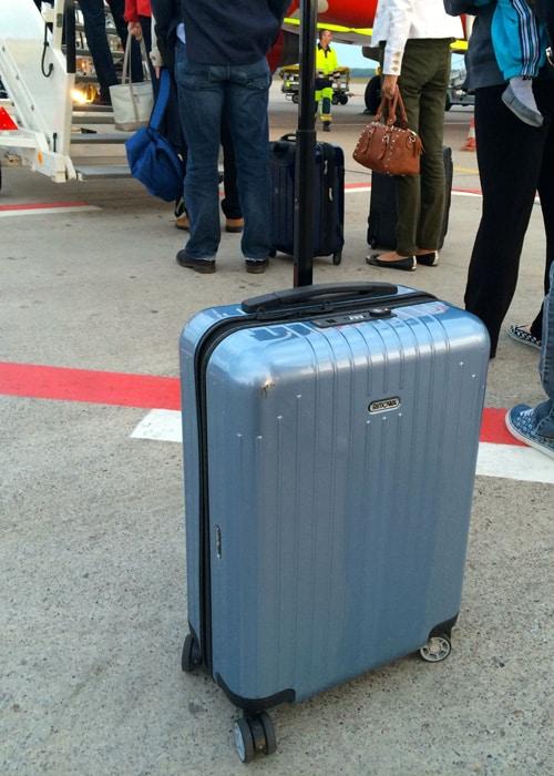 Koffer oder Rucksack