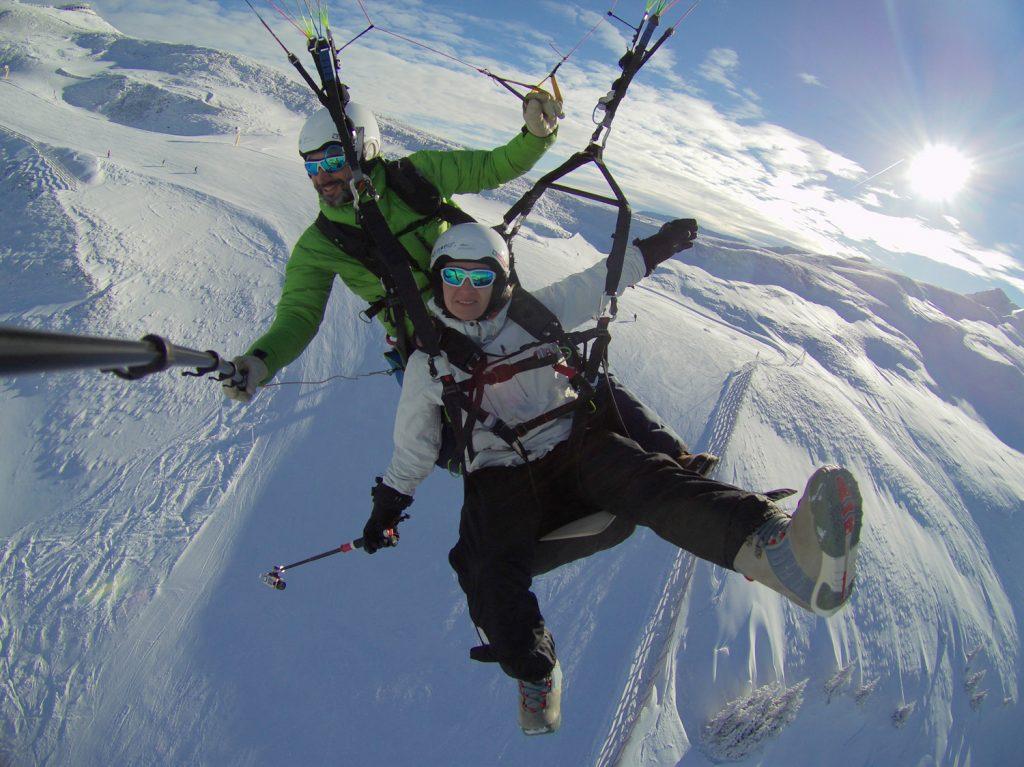 Paragliden Saalbach Hinterglemm 9 faszinierende Aussichtspunkte und Landschaften ©looping-magazin