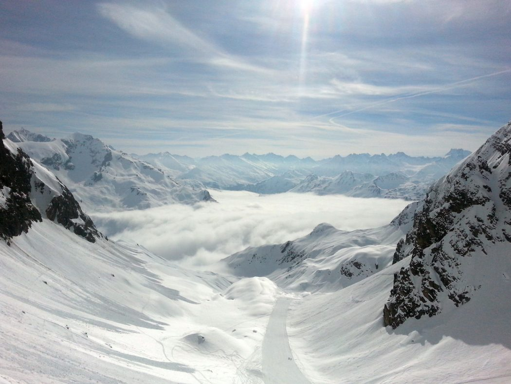 Skirunde am Arlberg