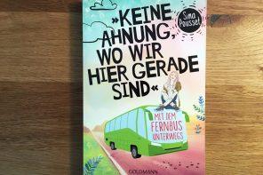 *** VERLOSUNG APRIL *** Das perfekte Buch für die Reisen mit Fernbus.