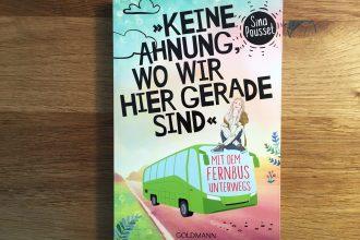 Buch für die Reisen mit Fernbus.