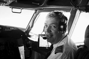 Ein Besuch im Cockpit