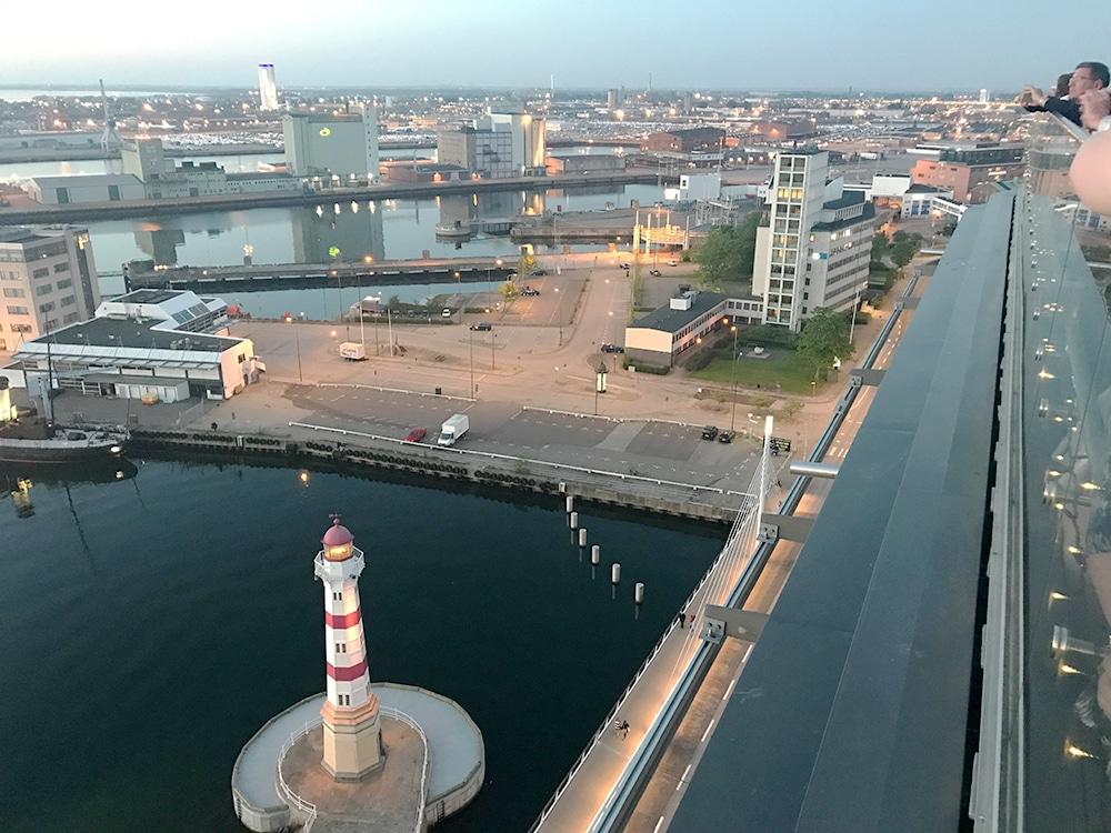 Malmö Tipps Aussicht Rooftop Bar Griljanne